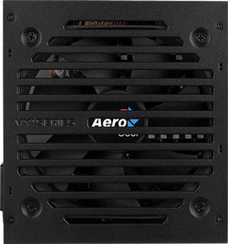 Блок живлення AEROCOOL VX PLUS 500 500W v.2.3 Fan12см 78+ max Brown box
