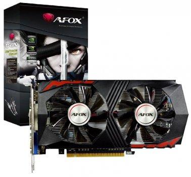 Відеокарта AFOX GeForce 2GB DDR5 (AF750TI-2048D5H5-V7) (6515933)