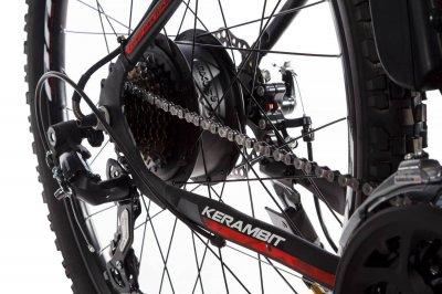 """Электровелосипед Kerambit 26"""" 17"""" 36V 14Ah 500W чёрно-красный (KECHK)"""