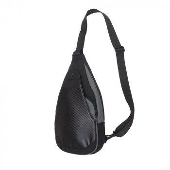 Сумка-слингер тактическая DANAPER Velox, черно-серый Black-Gray /1032099/