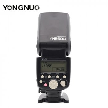Вспышка для фотоаппаратов NIKON - YongNuo Speedlite YN560Li KIT в комплекте с аккумулятором