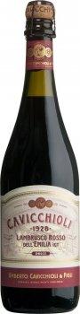 Вино игристое GIV Cavicchioli Lambrusco Emilia Rosso Dolce Красное полусладкое 0.75 л 7.5 % (8001900527057)