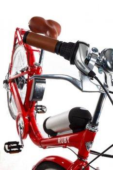 Электровелосипед женский Dorozhnik Ruby 36V 10Ah 500W красный (RUBYK)