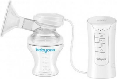 Молоковідсмоктувач електричний 3в1 BabyOno Natural Nursing 300 (BabyOno 300) (5901435408476)