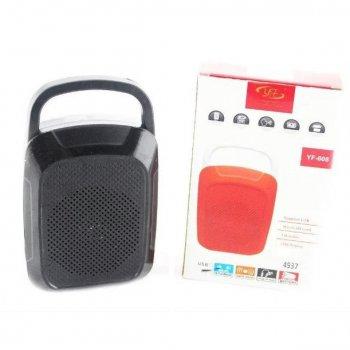Мини колонка SPS YF 608 BT, с Bluetooth, черная