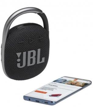 Портативная акустика JBL CLIP 4 BLK