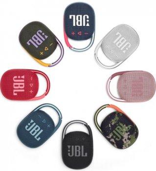 Портативная акустика JBL CLIP 4 PINK