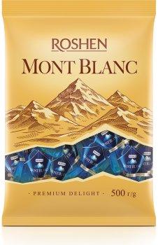 Конфеты Roshen Mont Blanc трехслойное ореховое пралине 500 г (4823077628689)