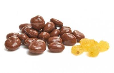 Родзинки у молочному шоколаді 300 гр