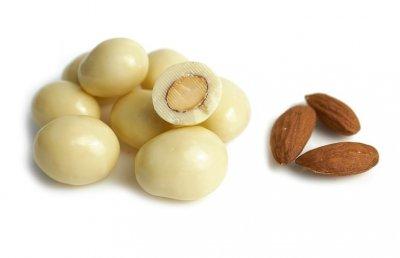 Мигдаль у білому шоколаді 300 гр
