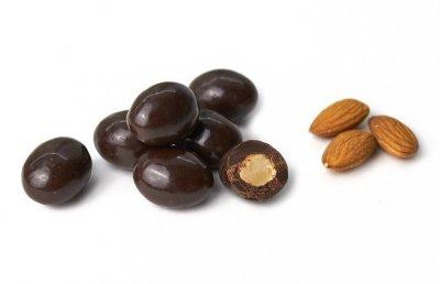 Мигдаль у чорному шоколаді 300 гр