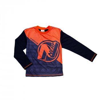 Пижама для мальчика (1 шт) George темно-синяя с оранжевым NERF 1664