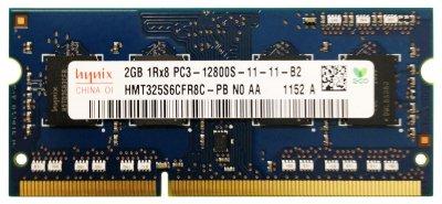 Модуль пам'яті SO-DIMM 2GB/DDR3 1600 Hynix (HMT325S6CFR8C-PB)