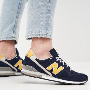 Кроссовки New Balance CM996SHC Синие с желтым