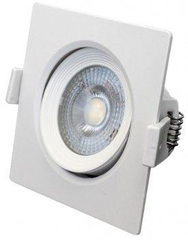 Світильник точковий Bemko ALIS LED 6 Вт 4000 K 520 Лм IP40 квадратний поворотний (C70-DLA-AS-064-WH)