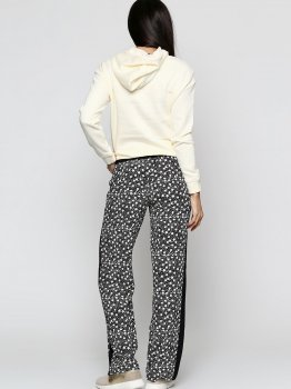 Спортивные штаны H&M 3001432 Черные с белым