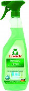 Очисник для скляних і дзеркальних поверхонь Frosch Лимон 750 мл (4009175183637)