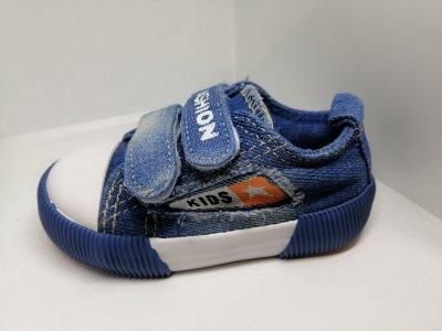 Кеды для мальчиков Comfort-baby 525-02 джинс