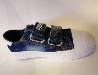 Кеды для мальчиков Comfort-baby 327-1 синие