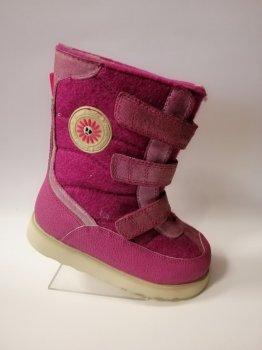 Зимние ортопедические сапоги для девочки Sursil Ortho 43-054 фуксия