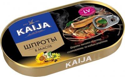 Шпроты Kaija в масле 190 г (4751007730815)