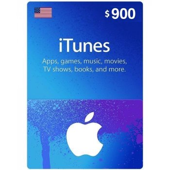 Подарочная карта iTunes Apple / App Store Gift Card 900 usd US-регион