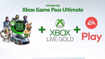 Электронный код (Подписка) Xbox Game Pass Ultimate 1 месяц + Xbox Live Gold на 12 месяцев Xbox One/Series для всех регионов и стран