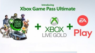 Електронний код (Підписка) Xbox Game Pass Ultimate - 28 днів Xbox One/Series для всіх регіонів і країн