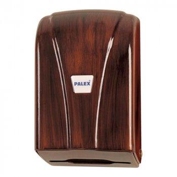 Диспенсер листової рулонної туалетного паперу Palex 3438A під дерево