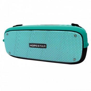 Портативна колонка Hopestar A20 (55W) Bluetooth Акустична стерео система з функцією TWS Turquoise