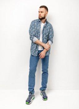 Легкі джинси Pierre Cardin з колекції Air Touch у блакитному відтінку (7330/57/3374)