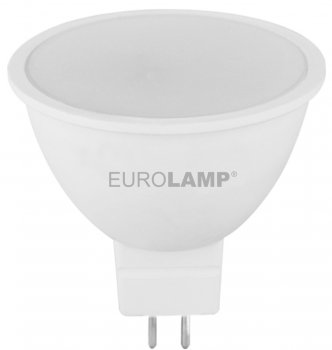 Світлодіодна лампа EUROLAMP SMD MR16 5W GU5.3 3000K (LED-SMD-05533(P))