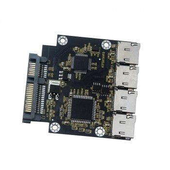 SSD диск-адаптер для 4 micro SD карт SATA SV0082