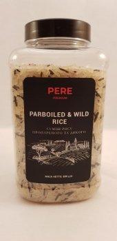 Смесь риса пропаренного и дикого Pere 800г