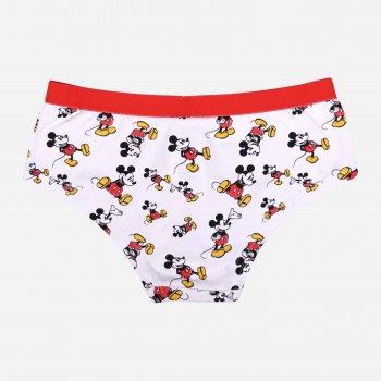 Трусы Disney Mickey Mouse DISMFB52338106/8107SINGLE Белый/Красный