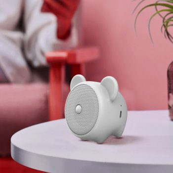 Портативная колонка BASEUS•Q Chinese Zodiac Wireless Speaker Mouse E06 (Мышка)
