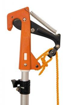 Сучкорез штанговый ПРОФИ телескопический 1,5 - 3,8 м, лезвия SK5, алюминиевая ручка MASTERTOOL 14-69