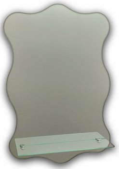 Зеркало навесное, фигурное Seria A №19 (595х395х120)