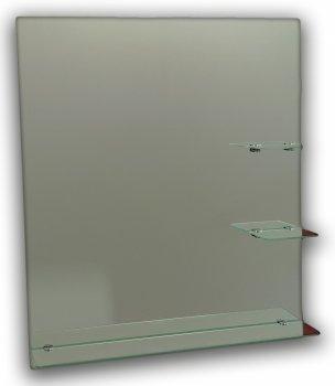 Зеркало в ванную Seria A №68 (687х600х120 мм) квадратное