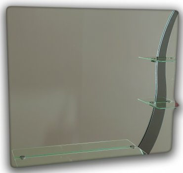 Зеркало с узором квадратное Seria A №49 (687х600х120)