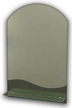 Зеркало с полочкой арка Seria A №33 (м) 690х450x120 мм