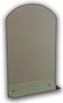 Зеркало в ванную с полкой Seria A №8 (м) 675х400х120 мм