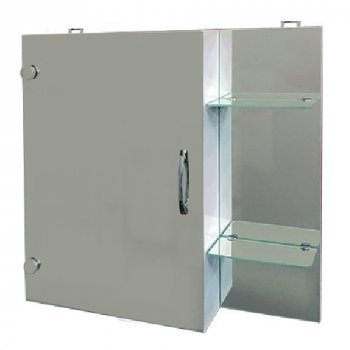 Зеркальный шкаф в ванную Seria A № Реджина (600 x 600 x 125)