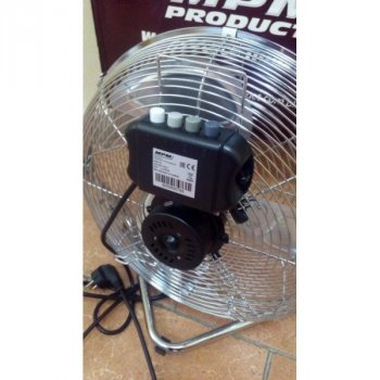 Вентилятор MPM MWP-04 хромована сталь ніжка-підставка кут нахилу 120 ° (462411 YS)