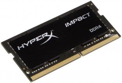 Оперативна пам'ять HyperX SODIMM DDR4-2666 16384MB PC4-21300 Impact (HX426S15IB2/16)