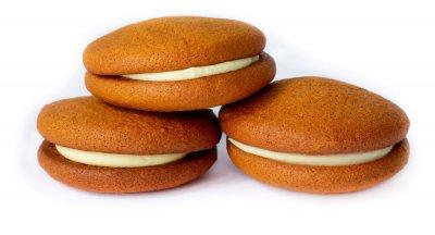 Печенье Добробут Медовое с заварным кремом 2.5 кг (4820222890243)