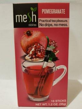 Чай фруктовый гранатовый Mesh stics в стиках 16шт по 2,2г