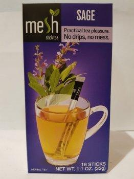 Чай травяной с шалфеем Mesh stics в стиках 16шт по 2г