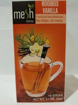 Чай с ройбушем и ванилью Mesh stics Ройбос ванильный в стиках 16шт по 2г