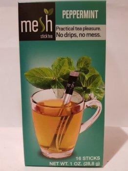 Чай травяной с мятой Mesh stics в стиках 16шт по 1.8г